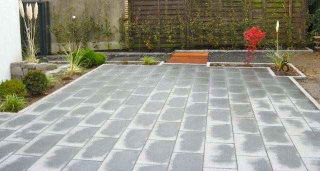 Terrasse Granit Padang Holz