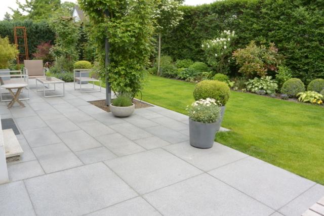 Terrassenplatten Granit-Padang