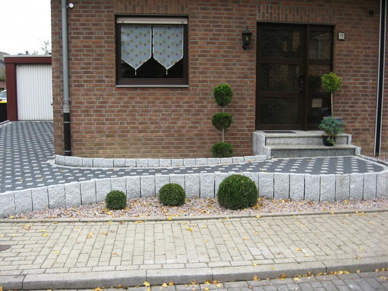Moderne Vorgartengestaltung