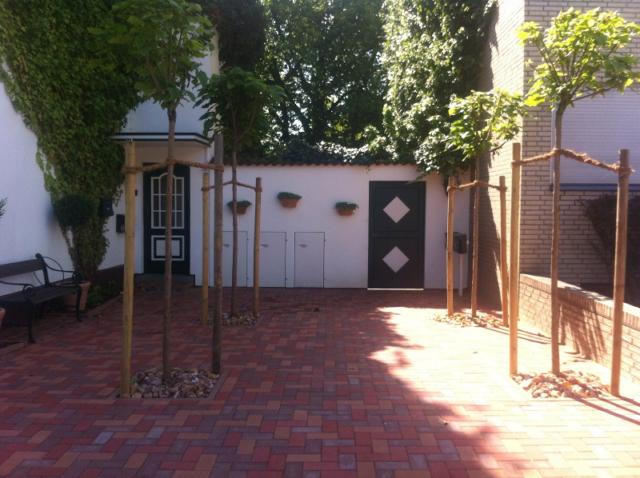 Vorgarten mit Plaza-Charakter